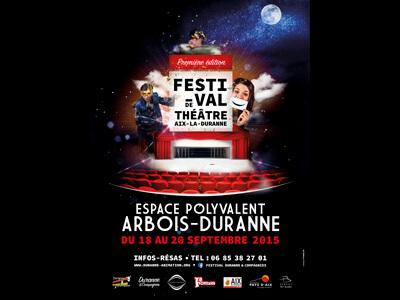 Affiche festival Duranne