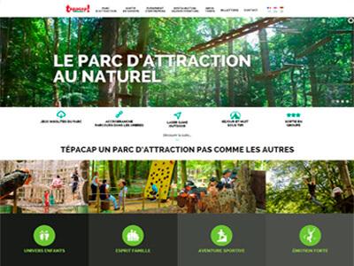 TEPACAP BITCHE Web Design